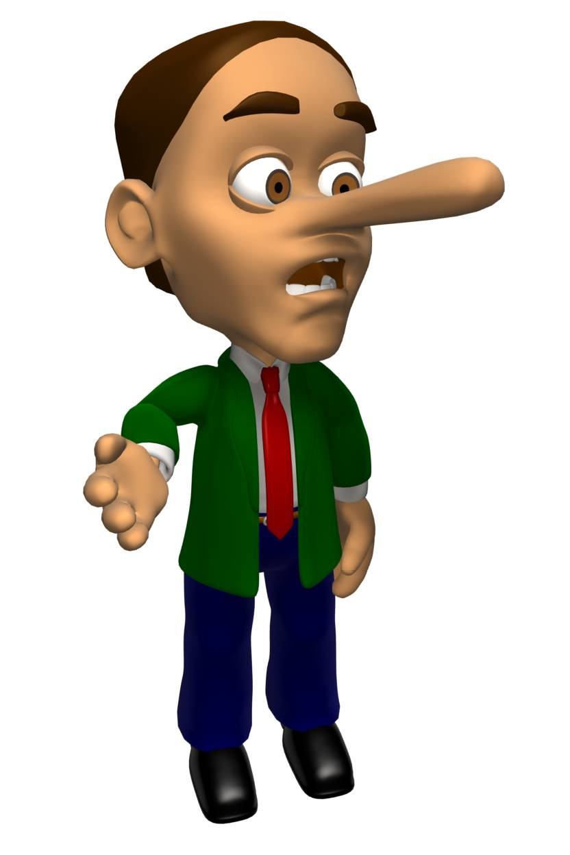 effects of telling lies essay A guide to little white lies, social fibs, and more -- and when the truth really   hoped to get through most of the day without a tantrum understands why telling  less.